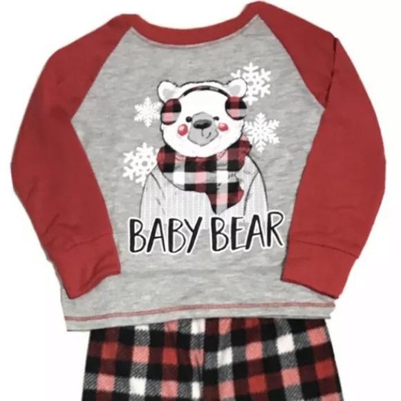 Family Holiday Fleece Pajamas Set